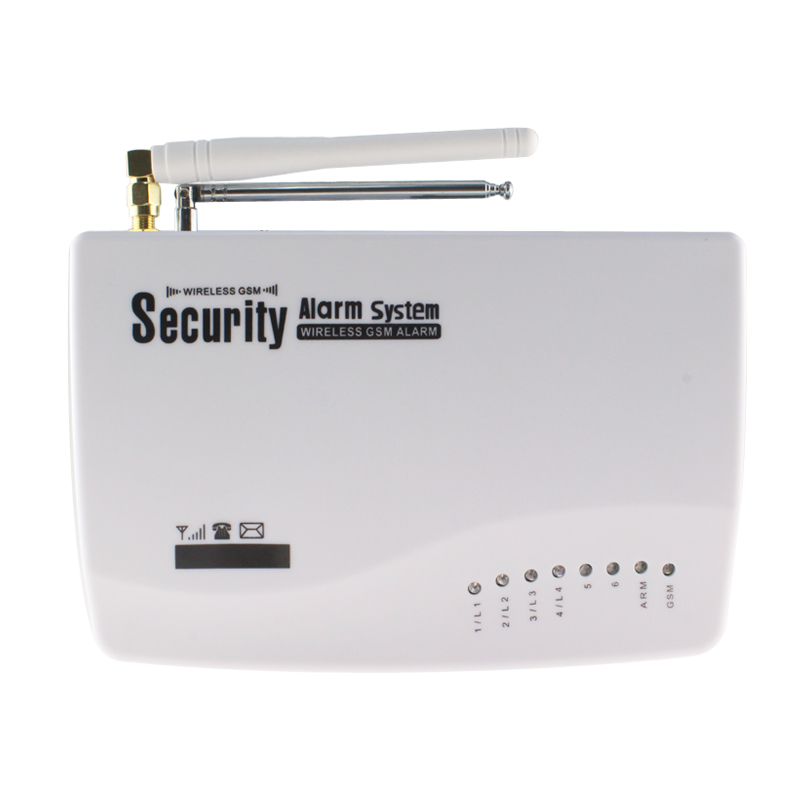 New Wireless/wired GSM Voice Home Security Burglar Android IOS Alarm ...