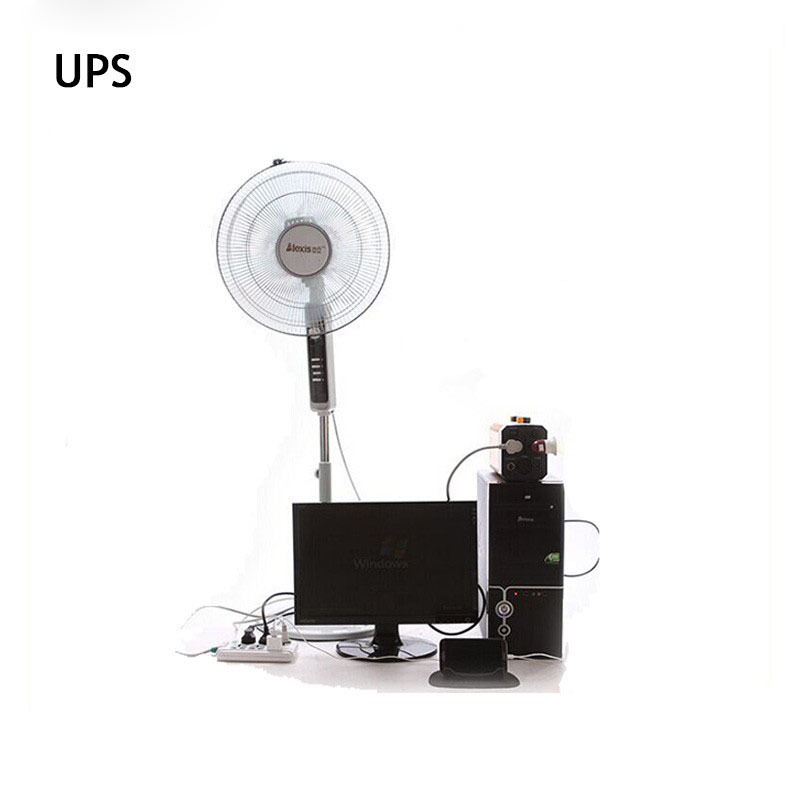 12V 26Ah Portable UPS ON-Line AC/DC UPS POWER LI-ION Lithum Battery Power OUt power 500W 4 USB four 12v output and 2 PLug