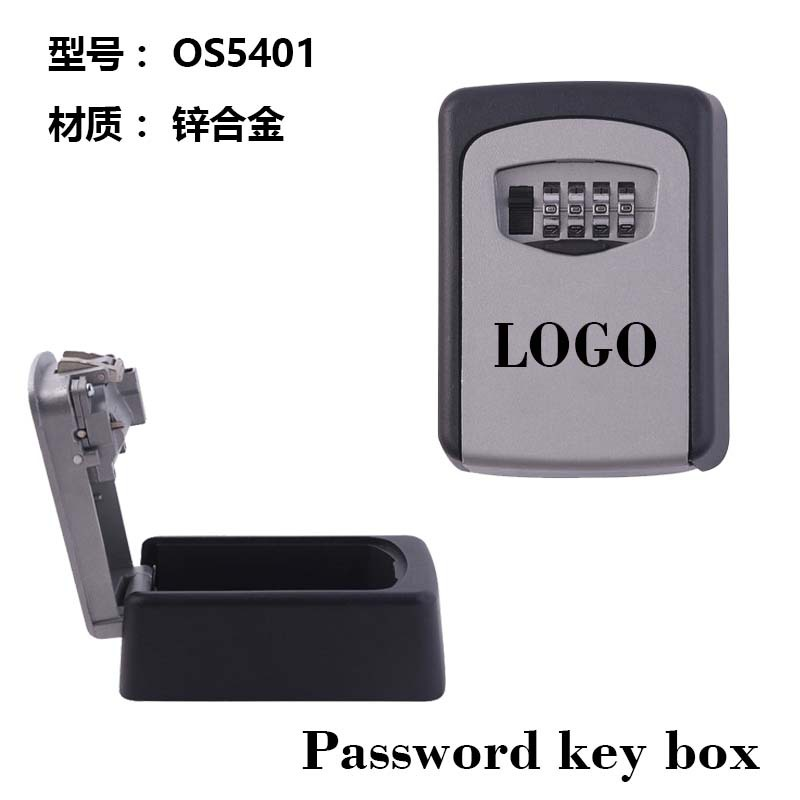 Zinc Alloy Password Key Box KN5401