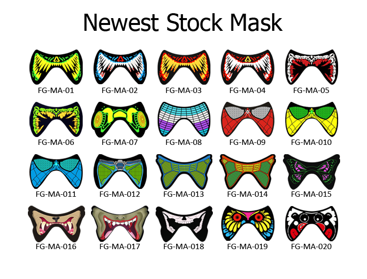 Mask for party us$0.85-us$10.8/pc